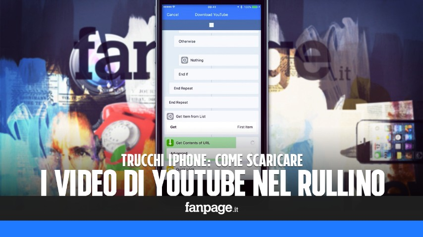 video su rullino iphone