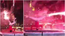Il modo più spettacolare per sparare fuochi d'artificio