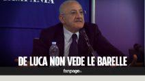 """Caos barelle al Cardarelli, De Luca: """"Situazione eccellente"""". Ma i malati sono in corsia"""