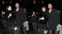 Ilaria D'Amico e Gigi Buffon, la coppia più paparazzata alla super festa della Juventus