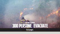 Genova devastata dagli incendi: 300 evacuati, c'è un indagato