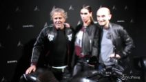 Nuova Ducati Diavel Diesel, madrina dell'evento Melissa Satta