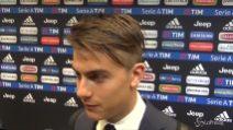 """Dybala: """"Le voci di mercato? Sto bene alla Juve"""""""