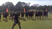 Il Peñarol fa zumba: i calciatori seguono i movimenti dell'istruttrice