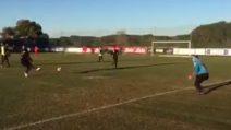 Napoli, il primo gol di Milik dopo l'infortunio