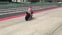 MotoGP, la prima uscita di Stoner con la Ducati 2017