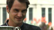 Federer: ora le gambe bruciano ma spero di tornare qui nel 2018 Dopo aver vinto gli Australian Open: sono ancora ad alti livelli