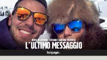 """Hotel Rigopiano, l'ultimo messaggio di Stefano: """"Papà qui è pieno di neve"""""""
