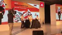 MotoGP, ecco la nuova Honda di Marquez e Pedrosa