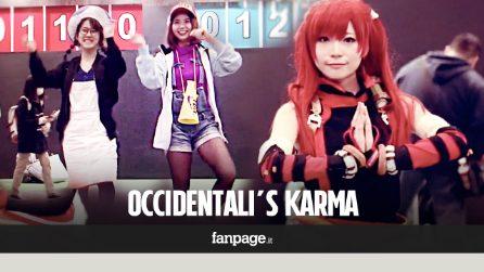 Abbiamo chiesto ai giapponesi di ballare Occidentali's Karma, il tormentone di Francesco Gabbani