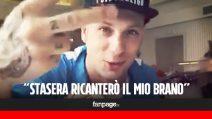 """Sanremo 2017, Clementino: """"500 mila view per 'Ragazzi fuori', ora votatemi"""""""