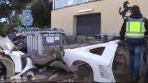 Sgominata in Spagna una banda di falsificatori di Ferrari