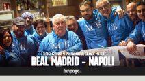 """Sfida al Real, i tifosi """"emigrati"""": """"Il Napoli non è una squadra, ma lo stato d'animo di una città"""""""