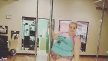 Jamie, la plus-size che balla pole dance