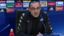 """Sarri: """"La pressione del match è tutta per il Real"""""""