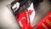 Formula 1, lo stickering della Ferrari SF70H