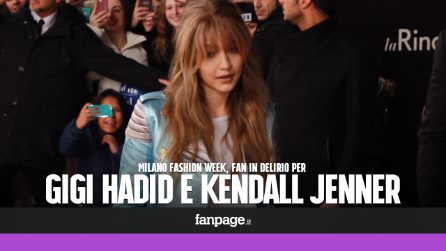 Gigi Hadid e Kendall Jenner, Milano impazzita per le super modelle
