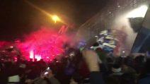 Bergamo sogna l'Europa: la grande festa all'aeroporto per abbracciare i calciatori dell'Atalanta