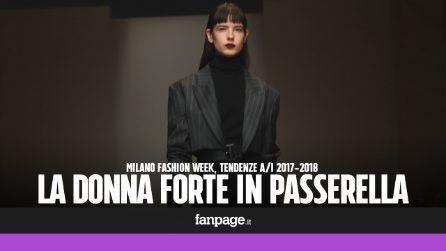 Milano Fashion Week, in passerella sfila la forza delle donne