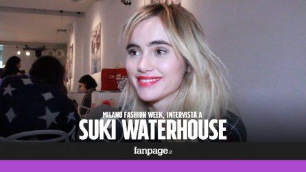 """Suki Waterhouse: """"Siate meno finti sui social, la gente vuole vedere il nostro vero aspetto"""""""
