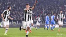 Coppa Italia, la Juve batte il Napoli 3-1 nella semifinale di andata