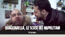 Le scuse (e le offese) dei napoletani a Quagliarella