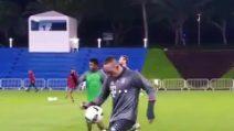 Giochetti con il pallone in allenamento: Ribéry è strepitoso