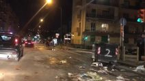Salvini a Napoli, ecco la situazione a Fuorigrotta dopo gli scontri