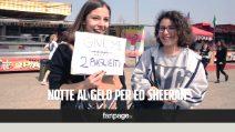 """Ed Sheeran a Torino, centinaia di fan in delirio: """"Abbiamo passato la notte al gelo"""""""