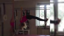 """Alessia Marcuzzi e il suo allenamento """"mortale"""""""