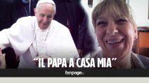 """""""Hanno suonato, ho aperto... era il Papa"""", il sogno di Dorotea si è avverato"""