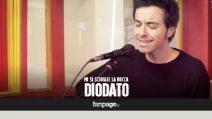 Diodato - Mi si scioglie la bocca (live a Fanpage.it)