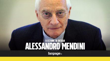 """Alessandro Mendini, il designer che ha conquistato il mondo: """"L'Italia è ancora il centro della creatività"""""""