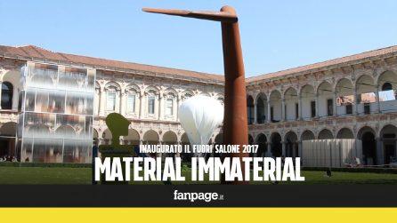 """""""Material Immaterial"""": si inaugura il FuoriSalone 2017 a Milano"""