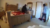 Ladrões entram na casa e veja o que acontece: imagens terríveis