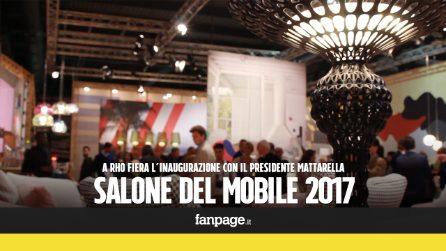 """Mattarella inaugura il Salone del Mobile: """"Il made in Italy è simbolo di una cultura d'impresa"""""""