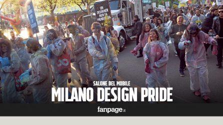 Milano design pride: la sfilata dei creativi invade piazza Affari