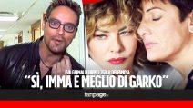 """Eva Grimaldi dopo l'Isola: """"Gabriel Garko ha fatto una battuta, ma io confermo che Imma sia meglio di lui"""""""