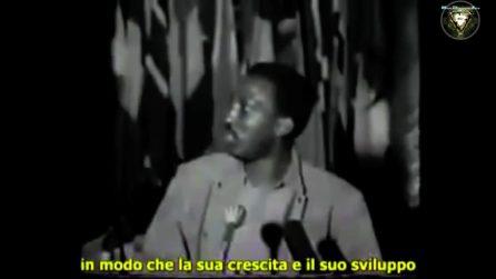 L'ultimo discorso di Thomas Sankara