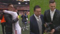Milik torna ad Amsterdam: l'attaccante del Napoli accolto come un re