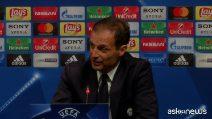 """Allegri: """"Juve, contro il Barcellona servono lucidità e freddezza"""""""