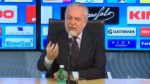 """De Laurentiis: """"Napoli non è come Torino. Mertens? Situazione familiare da chiarire"""""""