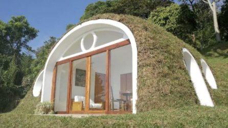 Come costruire una casa hobbit in soli 3 giorni - Costruire casa da soli ...