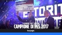 PES League, l'italiano Ettore Giannuzzi domina la finale europea: vince 20 mila dollari e vola a Cardiff