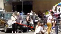 Paura per la tragedia a Times Square: il soccorso ai feriti dopo l'incidente