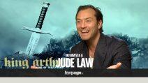 """'King Arthur' - Jude Law si complimenta con la Juventus: """"Sono sempre stato ossessionato dall'Italia"""""""