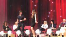 Stefano De Martino balla con Alba Parietti al Maurizio Costanzo Show