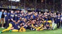 Il Verona torna in A coi gol del 'Pazzo'