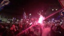 Atalanta torna in Europa dopo 26 anni: festa e tifosi scatenati nel cuore di Bergamo