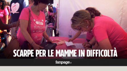 Roma, 200 paia di scarpe in regalo alle mamme in difficoltà